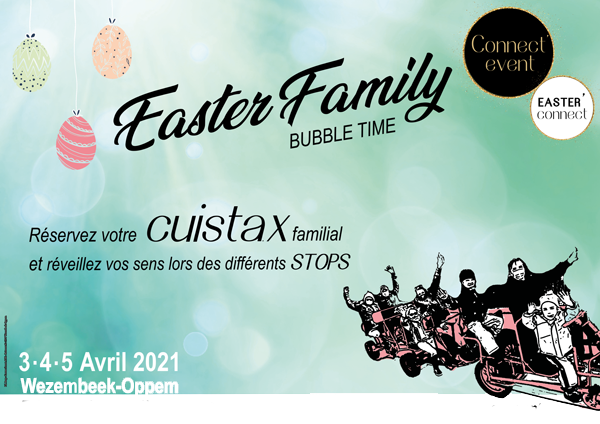 Easter Family Bubble time by Connect'Event